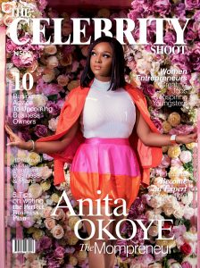 The Celebrity Shoot magazine anita okoye Cover